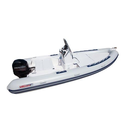embarcación neumática fueraborda / semirrígida / con consola central / 10 personas máx.