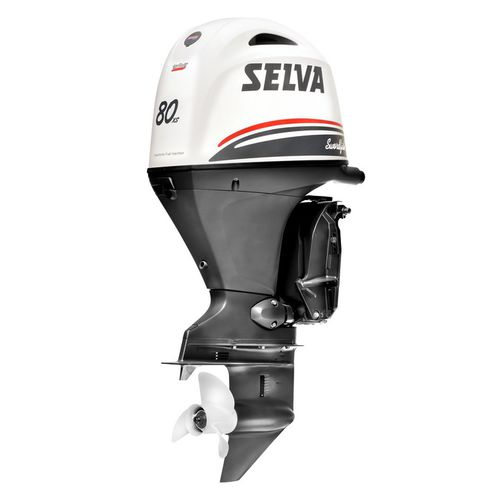 Motor para barco profesional / fueraborda / gasolina / de 4 tiempos SWORDFISH 80XS E.F.I. Selva Outboard Motors