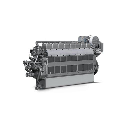 motor para buque de velocidad media / diésel