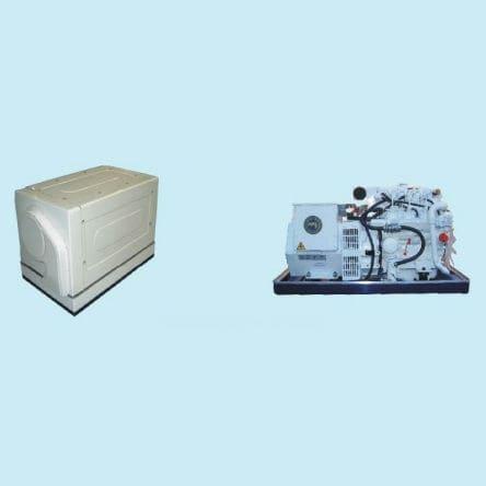 Grupo electrógeno para barco / diésel / de baja velocidad Ranger series HFL Power & Air GmbH
