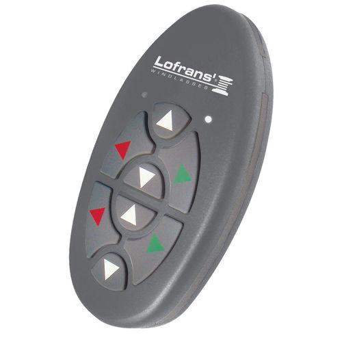 telemando radio de molinete / para barco / con botones