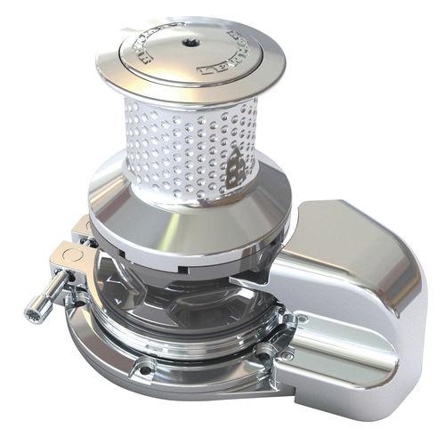 molinete para yate / vertical / eléctrico / hidráulico