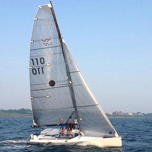 Foque / para monotipo / corte triradiale VX ONE  Quantum Sails