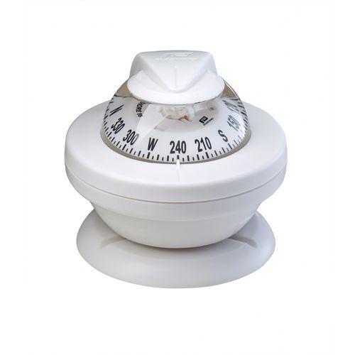 Brújula de navegación para barco de motor / magnética / horizontal / empotrable OFFSHORE 55 Plastimo