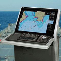 ECDIS para buque JAN-9201/7201 JRC USA