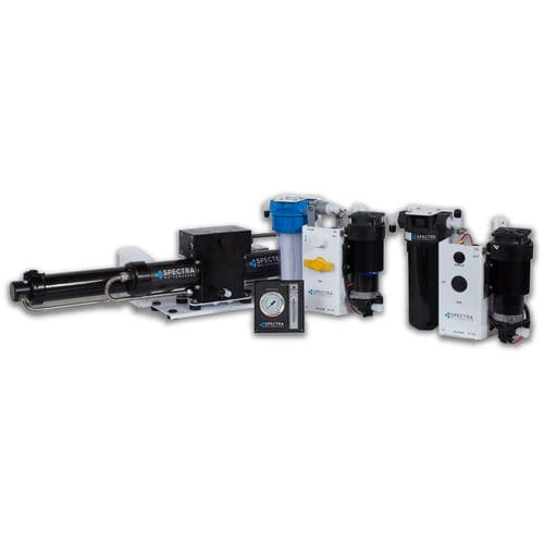 desalinizador para barco / por ósmosis inversa / 24 V / 12 V