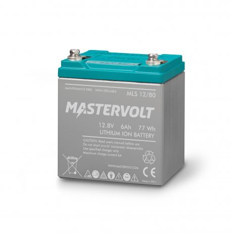 Batería marina 12V / de litio / de iones MLS 12/80 Mastervolt