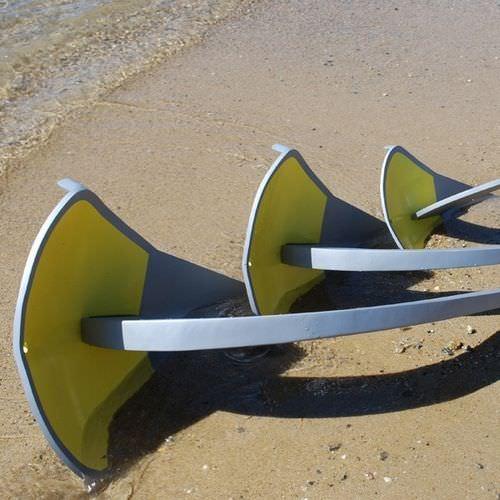 ancla de tipo Spade / para barco / de aluminio