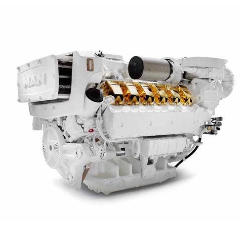 Motor intraborda / diésel / turbo / common-rail V12 MAN Engines