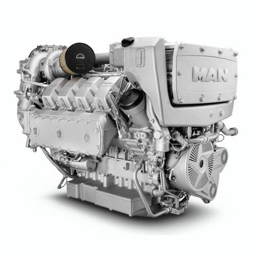 motor para buque diésel / turbo / common-rail