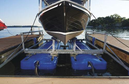 ascensor de barcos / flotante / de acero galvanizado