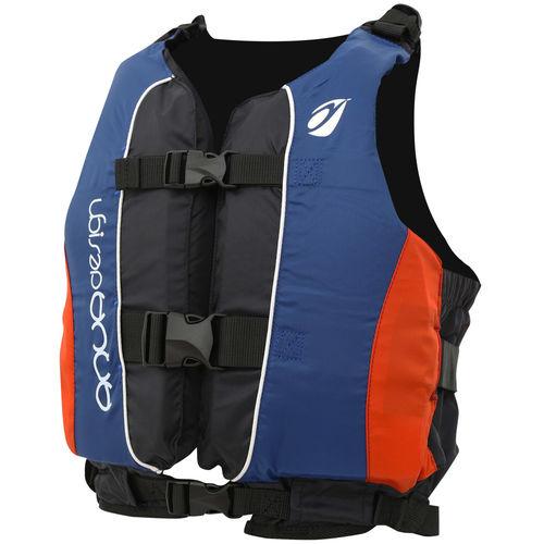 Chaleco de ayuda a la flotabilidad de deporte náutico / para canoa y kayak / de vela ligera / unisex RED/BLUE TWIST CLUB LIFE JACKET Aquadesign