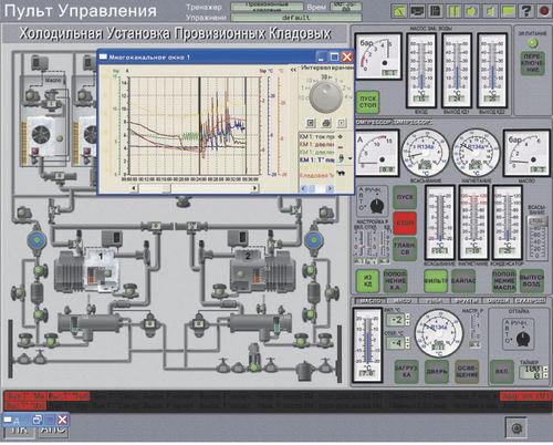 Simulador de prácticas / para buque Refrigerator Plant Transas Marine International