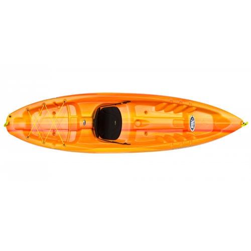 kayak sit-on-top / rígido / de recreo / 1 plaza
