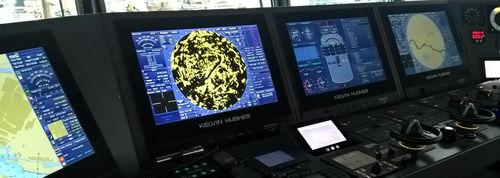 Integrated Bridge System para buque