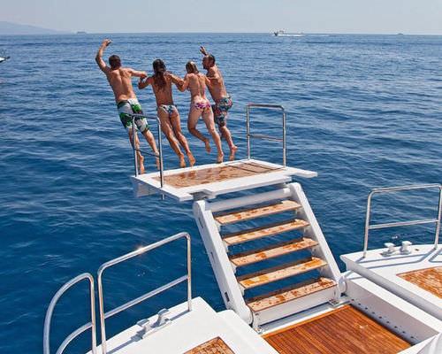 plataforma para barco / para yate / multifunción