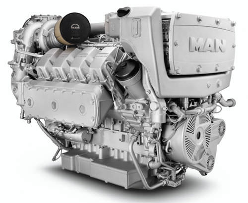 motor para buque diésel / common-rail