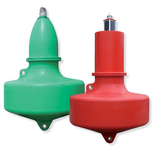 Boya de balizamiento / de canal / con luz de señalización / acero inoxidable SLB1500  Sealite