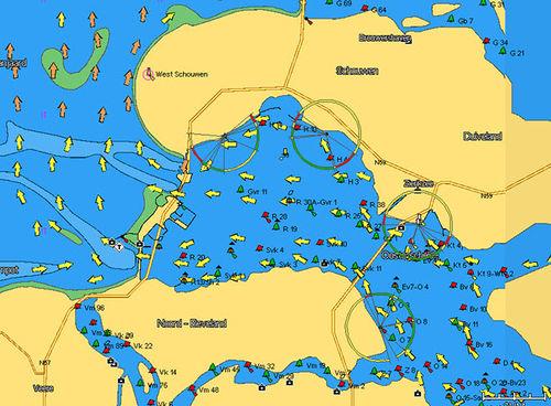 carta náutica digital / 3D