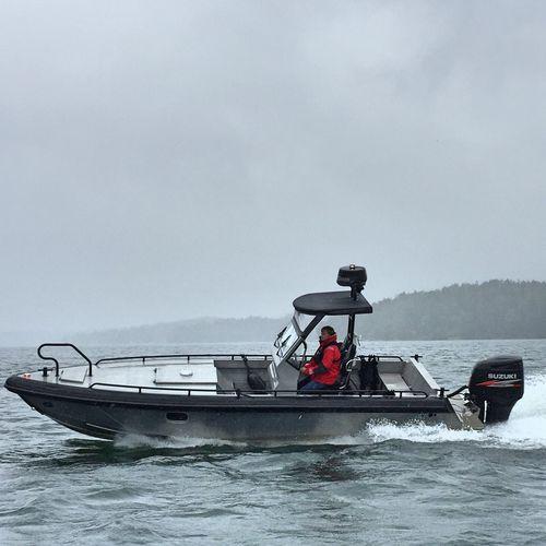barco open fueraborda / diésel / con consola central / open