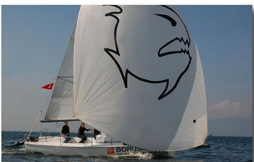 monocasco / velero de quilla deportivo / con popa abierta / con 1 camarote