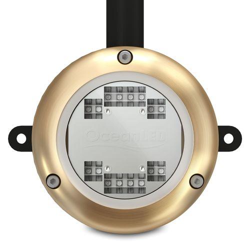 iluminación subacuática para pantalán / LED / de bronce / de aluminio