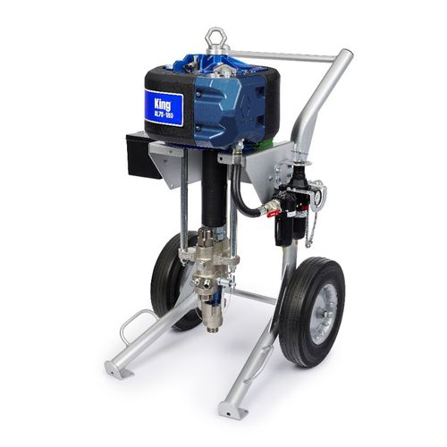 máquina de pulverización de pintura de rayos X móviles / para astillero naval