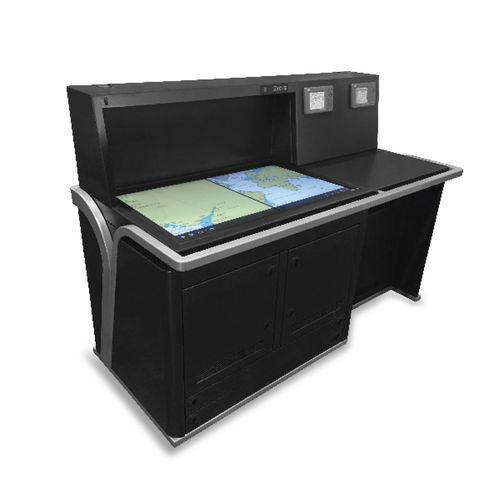 Mesa de cartas para buque / fija / digital Alphatron Marine
