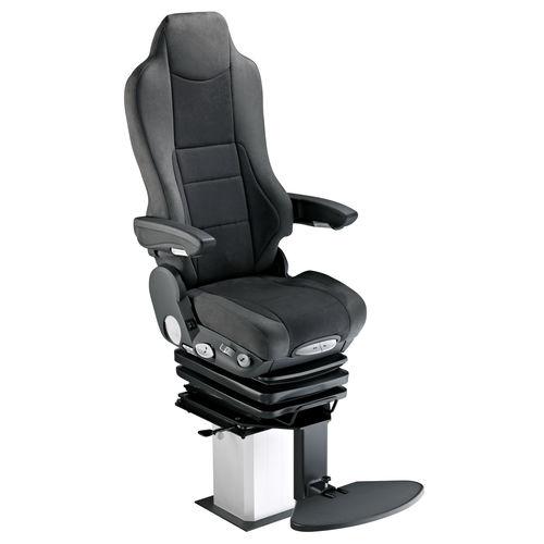 asiento piloto / para buque / con reposabrazos / respaldo alto