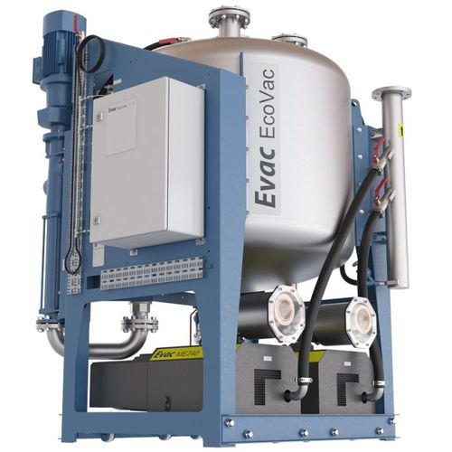 depósito de aguas residuales / de vacío / para buque / autoportante