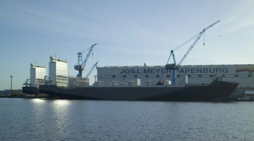 buque de carga portacontenedores / ice-class