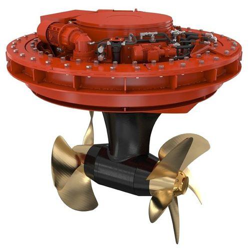 propulsor acimutal / para buque / eléctrico / compacto
