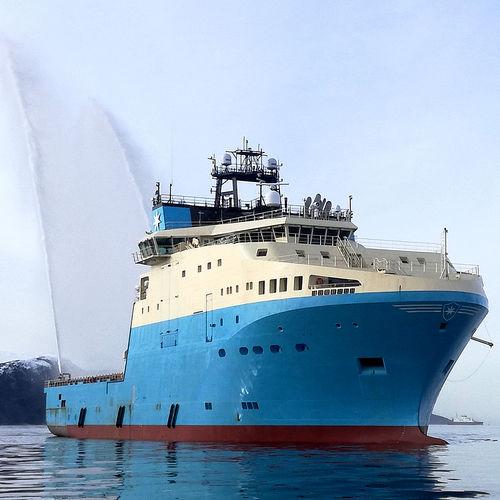 buque de servicio offshore de suministros / ice-class