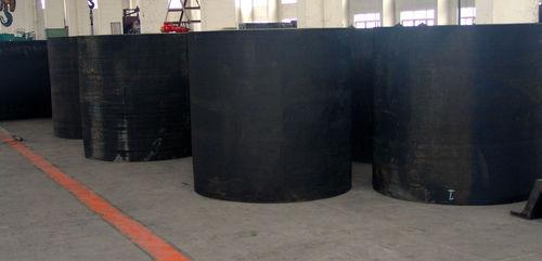defensa portuaria / cilíndrica