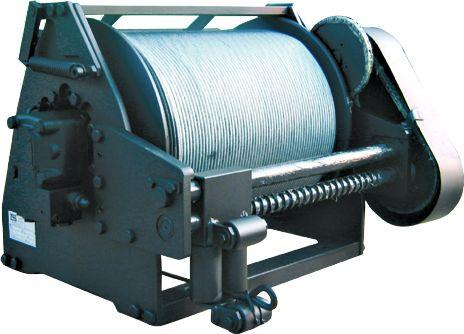 Chigre para buque / para investigación oceanográfica / motor hidráulico Wire-line  T.M.A.
