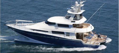 yate a motor catamarán / de pesca deportiva / con fly / de material compuesto