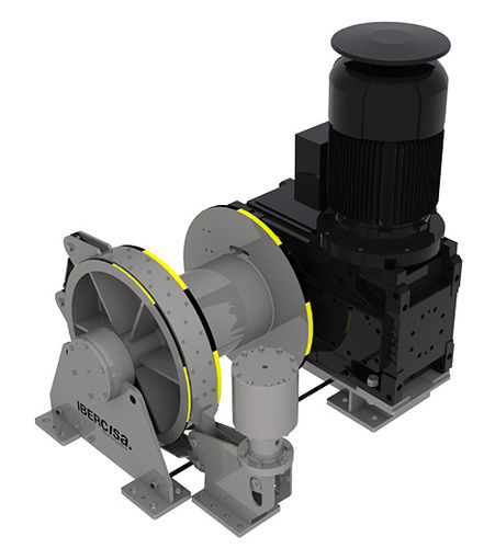 Chigre para buque pesquero / de remolque / motor hidráulico AUXILIARY Ibercia - Iber Comercio e Industria, S.A.