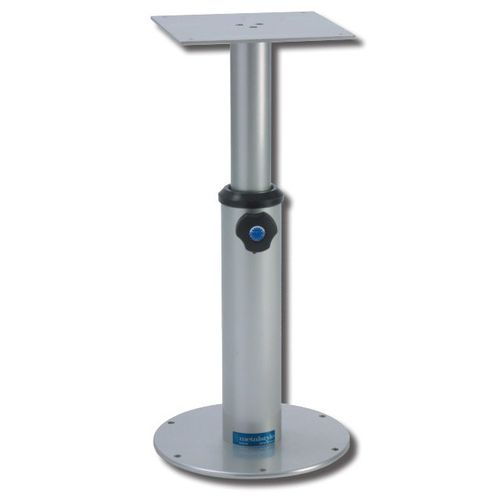 pie de mesa para barco ajustable / telescópico / de aluminio
