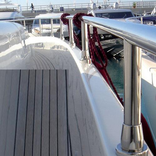 pasamano para barco / de acero inoxidable pulido