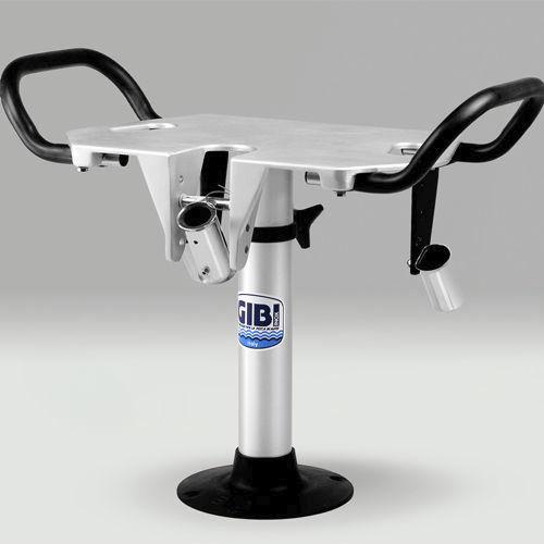 silla de combate para barco / con reposabrazos / de aluminio