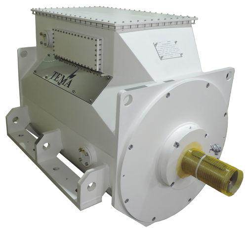 motor eléctrico intraborda / de propulsión para buque / de imán permanente