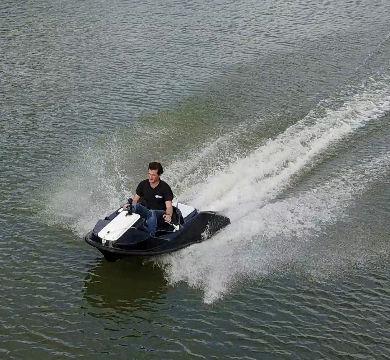 Moto acuática biplaza / eléctrica / 15 CV GSX AQUALEO