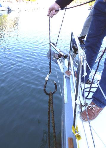 bichero para barco para guías de muerto