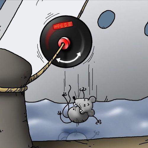 protección anti-ratas para amarra