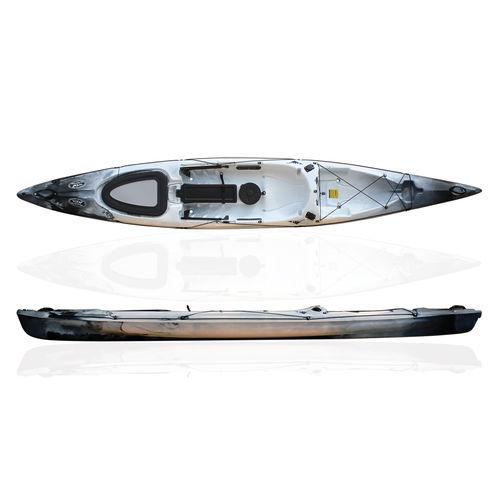 Kayak sit-on-top / rígido / de pesca / de regata RYTMO PECHE RTM Fishing