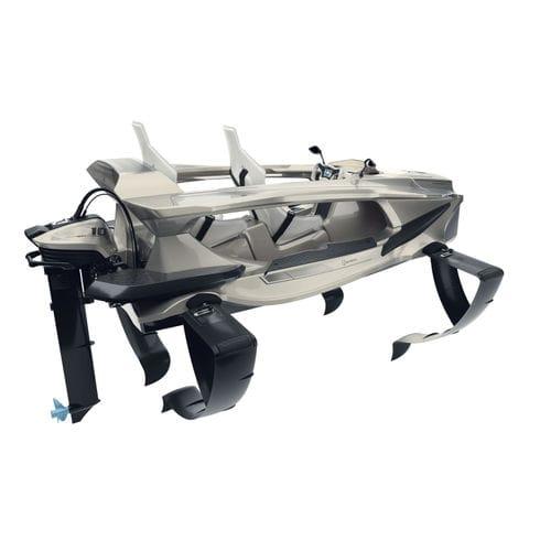 bote fueraborda / eléctrico / 2 plazas / hidroala