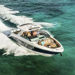 barco cabinado fueraborda / trimotor / open / bow-rider