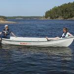 bote fueraborda / eléctrico de energía solar / 4 personas máx.