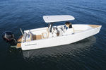 barco open fueraborda / con consola central / de pesca deportiva / 12 personas máx.