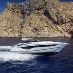 barco cabinado intraborda / bimotor / soft-top / de deporte